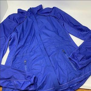 Lululemon Zip Jacket size 8 blue